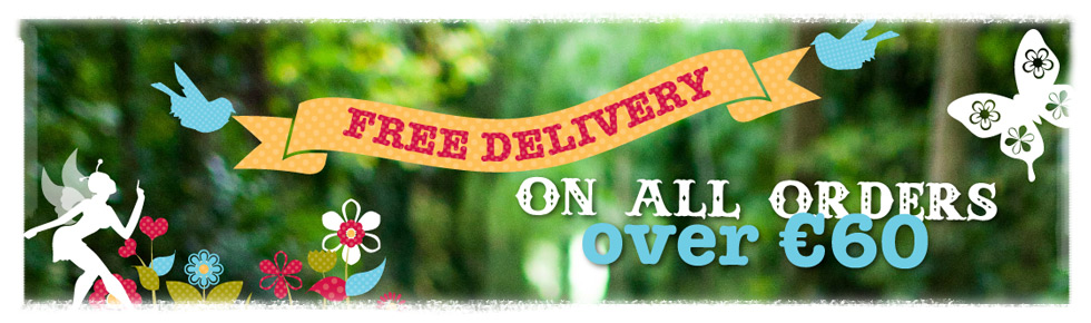 Bee Free Offer - Free Delivery for all orders over €60