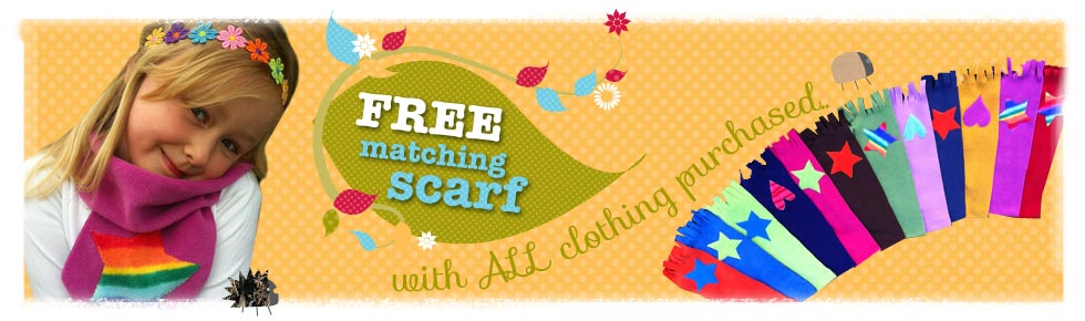 Bee Free Offer - Free Scarf with all clothing purchases